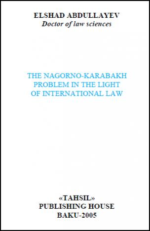 The Nagorno-Karabakh Problem in the Light of International Law